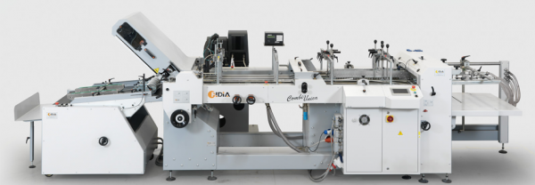 COMBIUNICA V5-Folder and gluer machine