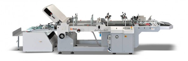 Combiunica Vesta machine is ideally suited for printers and print finishers