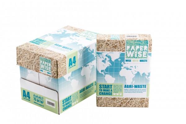 immagine per articolo Turning food waste into paper