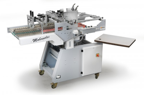 Mohandes unit is a continuous top loading friction feeder