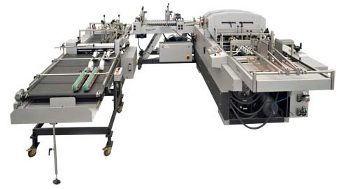 creasing folding and gluing machine-tellus