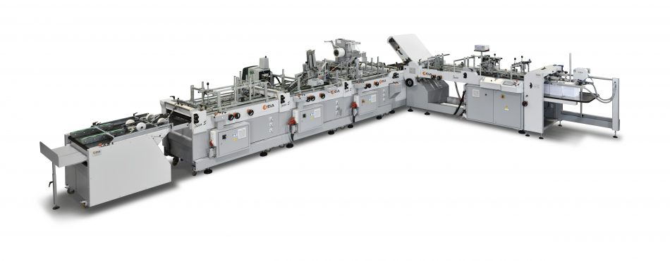 Envelope maker machine