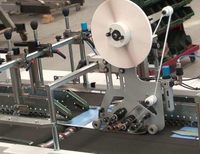 Applicatore biadesivo automatico Speedy, da rotolo o bobina