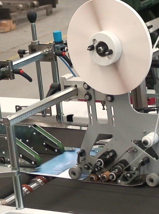 Tape application head Speedy, a brand new solution
